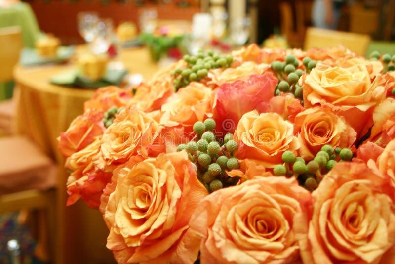 015 róż pomarańczowych tajskich fotografia royalty free