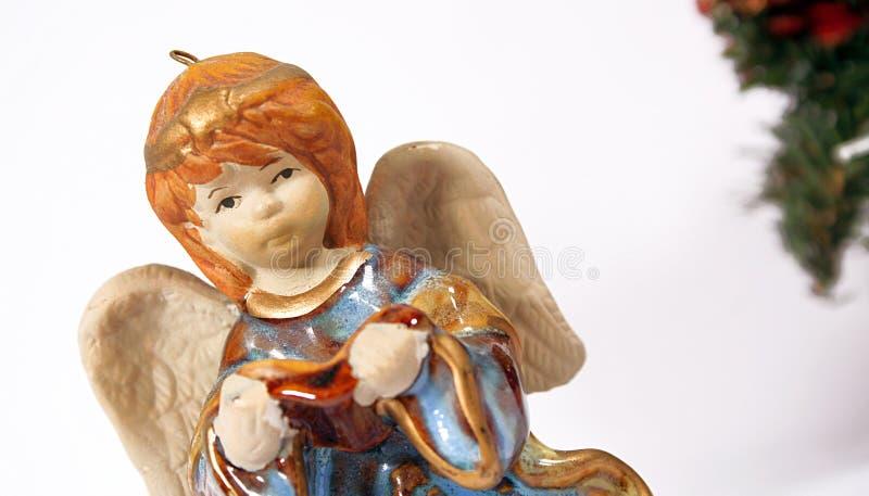 02个天使圣诞节 图库摄影