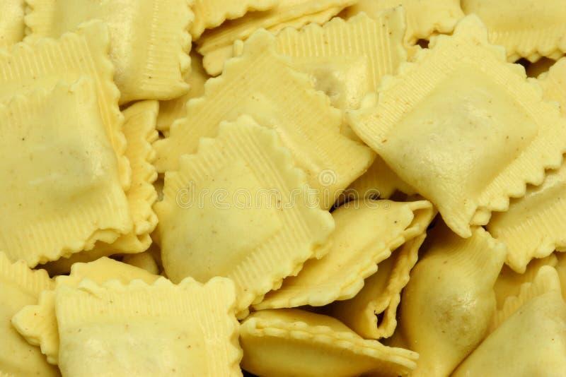 02个意大利面食馄饨 免版税库存照片