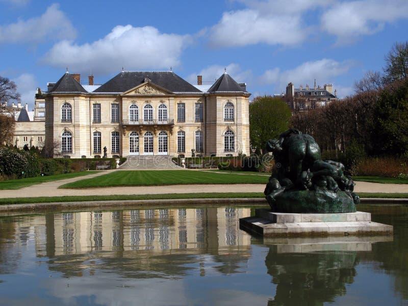 02法国博物馆巴黎rodin 免版税库存照片