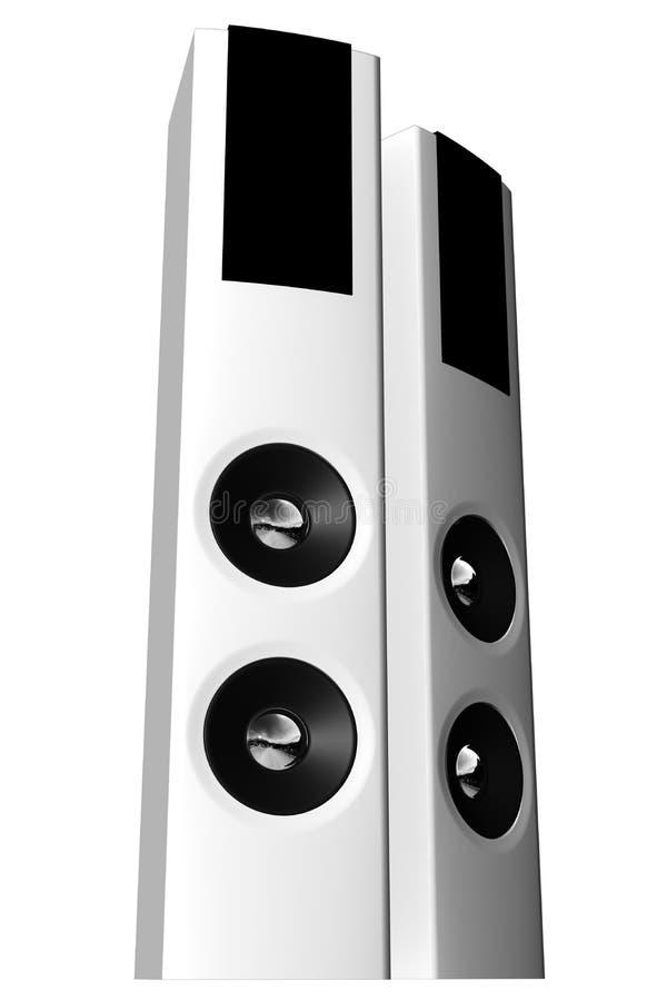 02 ακουστικά συστήματα διανυσματική απεικόνιση