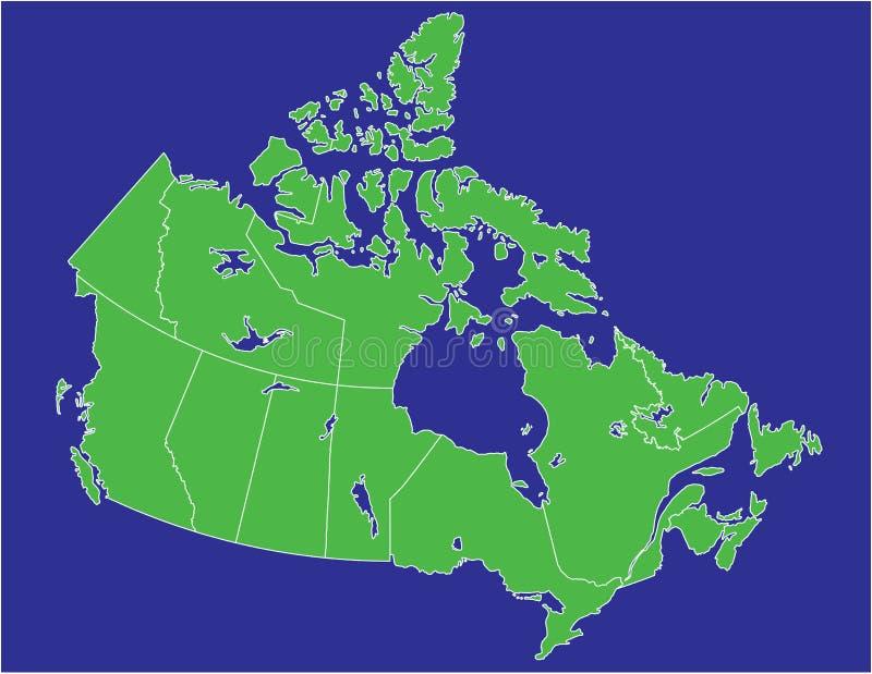 02 Καναδάς διανυσματική απεικόνιση