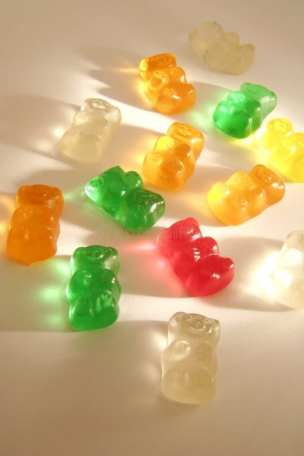 02 малыша gummi конфеты предпосылки стоковое фото