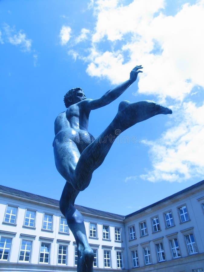 02 Biegaczy Posąg Fotografia Stock