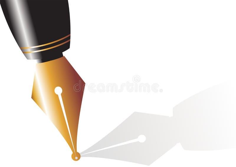 02 caneta royalty ilustracja