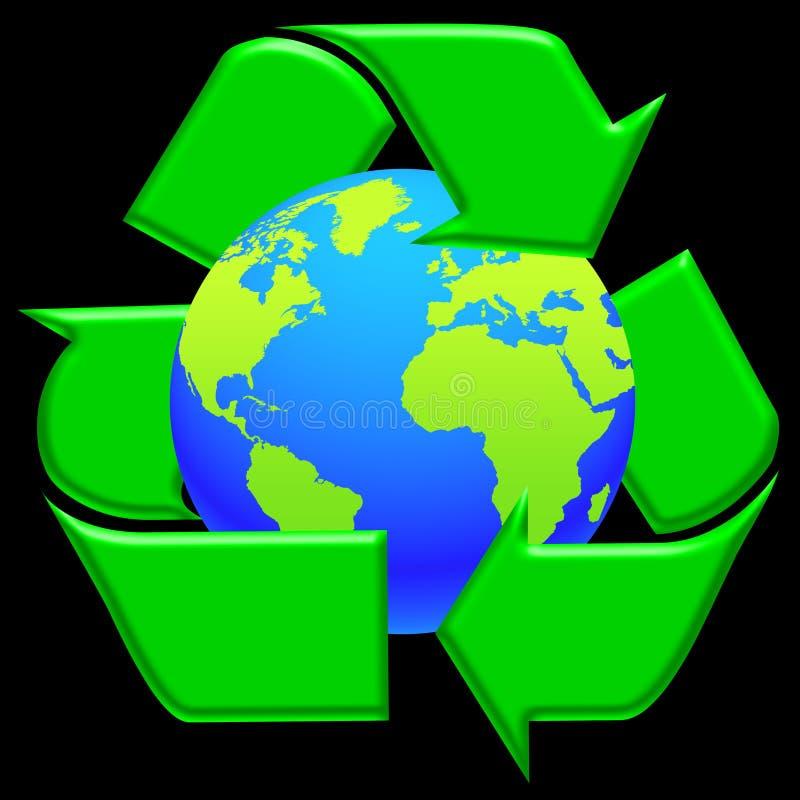 02 ekologia świat royalty ilustracja