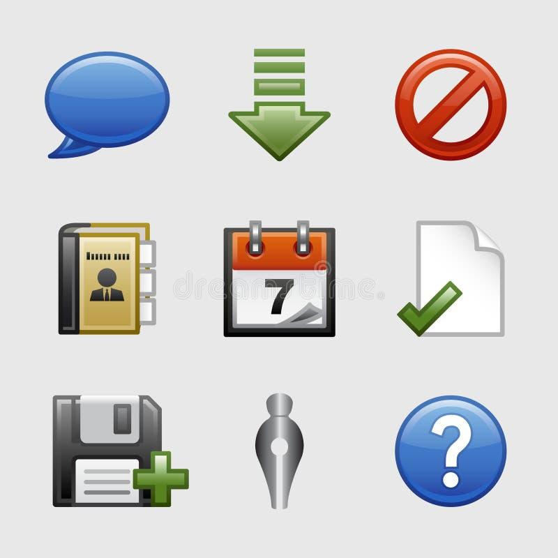 02 ikony ustawiająca stylizowana sieć