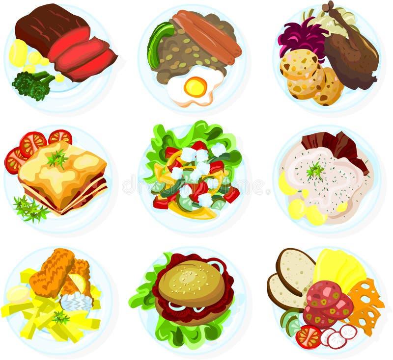 02 jedzenie ilustracji