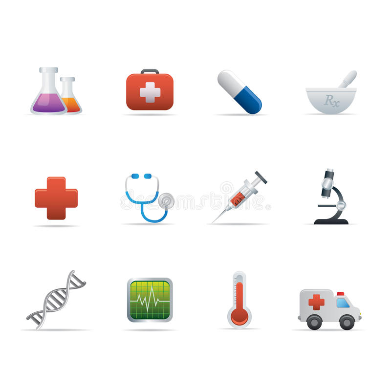 Download 02 Medicine And Healt Care Icons Editorial Stock Photo - Illustration: 16333033