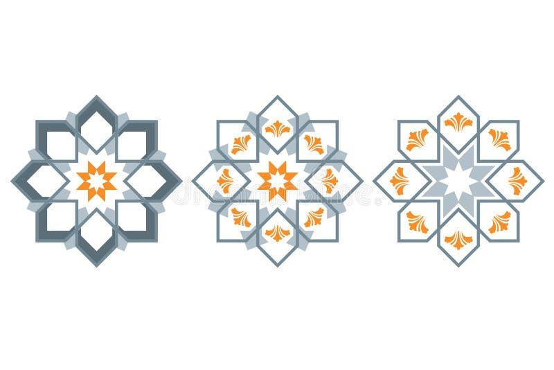 02 ornamentacji ilustracja wektor