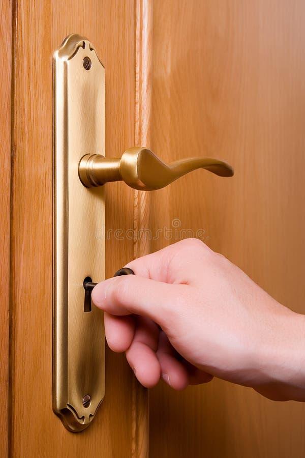 02 otwarcie drzwi zdjęcia stock