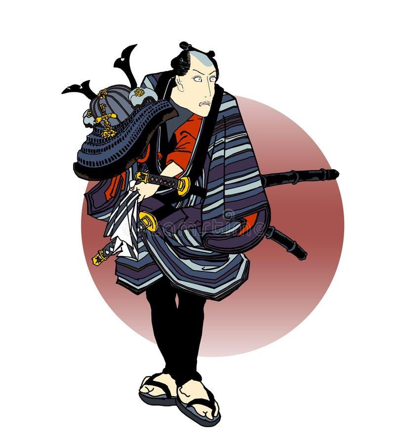 02 samuraja ilustracji