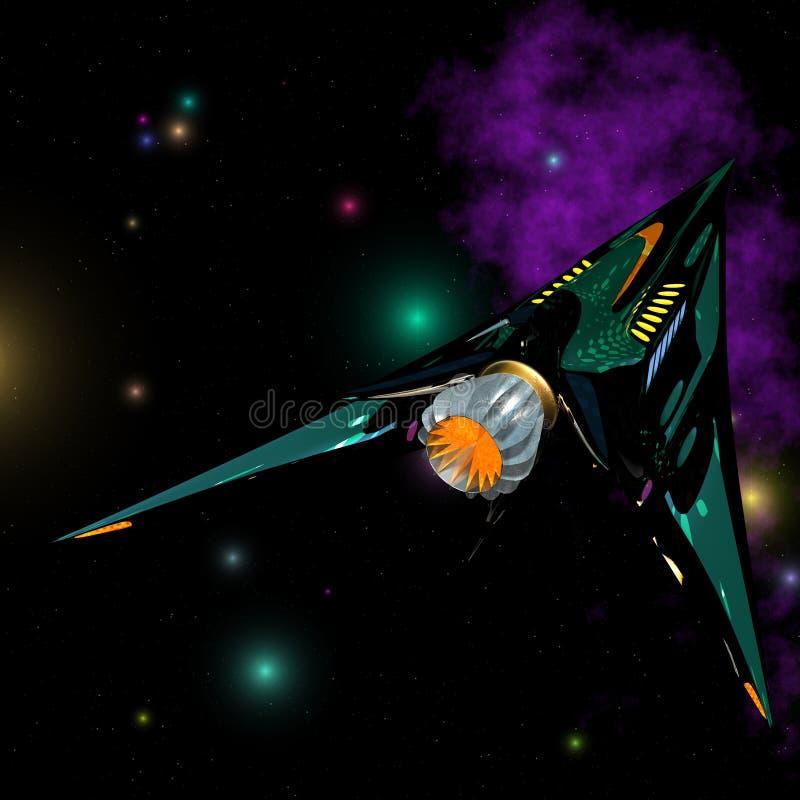 02 starship 向量例证