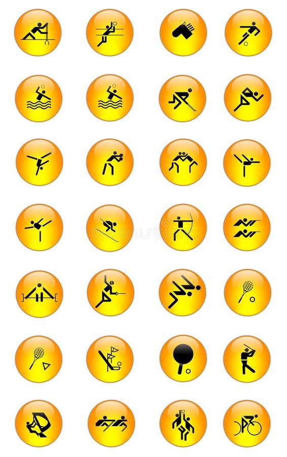 03个图标集合体育运动 向量例证