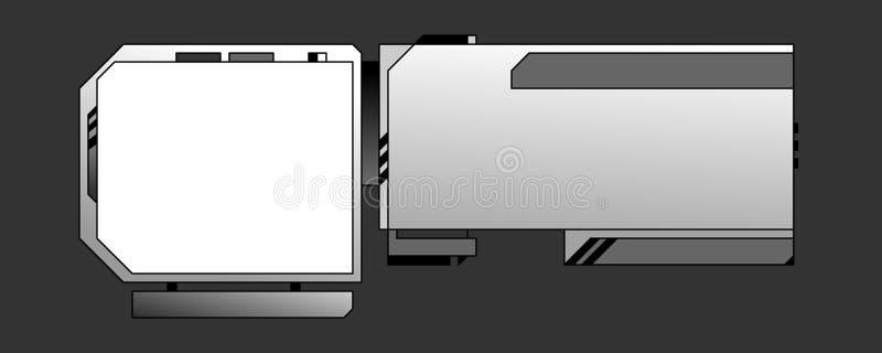 03个设计模板万维网 向量例证