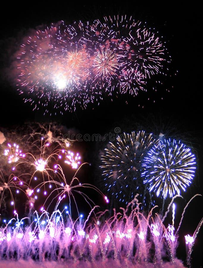 03 πυροτεχνήματα στοκ εικόνα με δικαίωμα ελεύθερης χρήσης