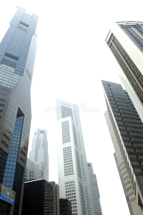 03 небоскреба singapore стоковые фотографии rf
