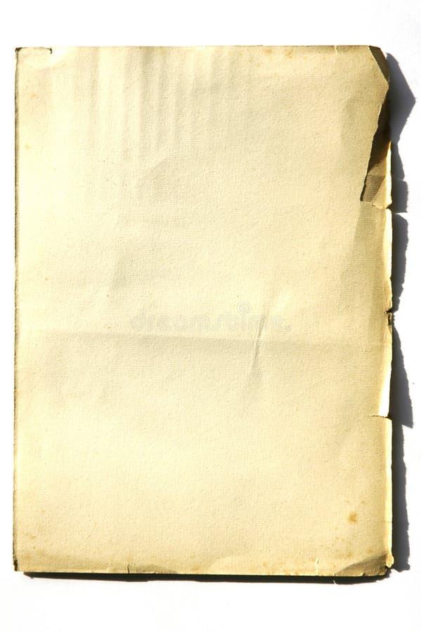 03老纸张 免版税库存照片