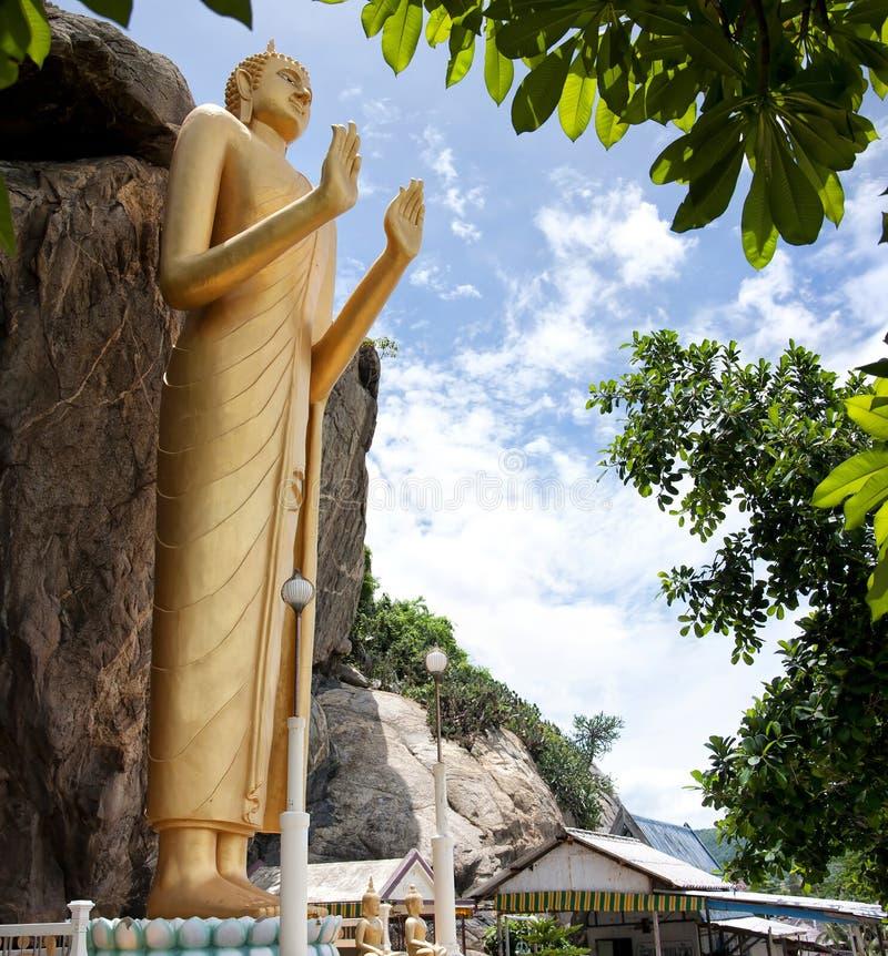 03 buddha standing royaltyfri bild