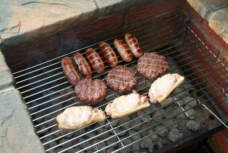 03 grill fotografia stock