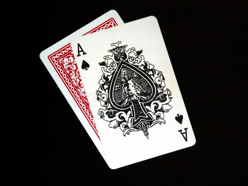03 karty grać obrazy stock