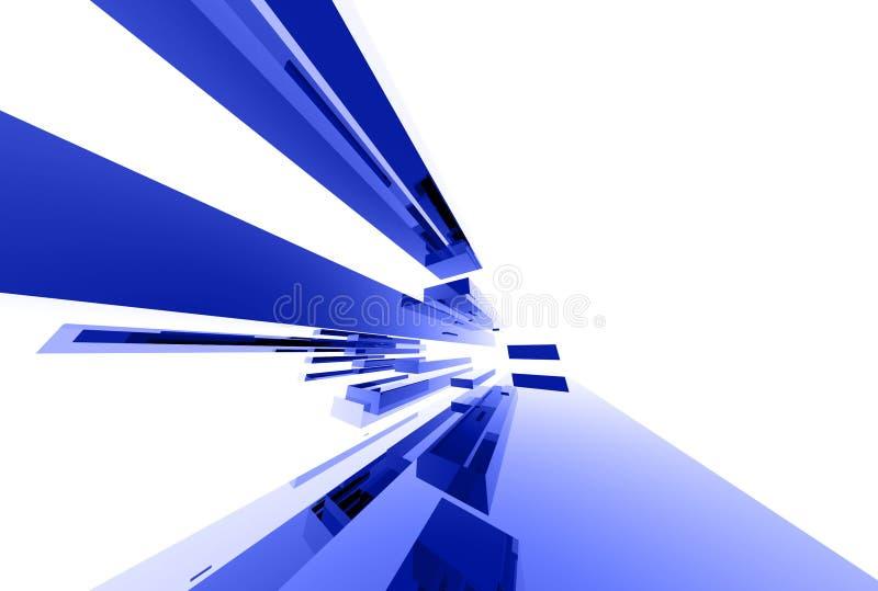 037 Glass Abstrakt Element Arkivfoton