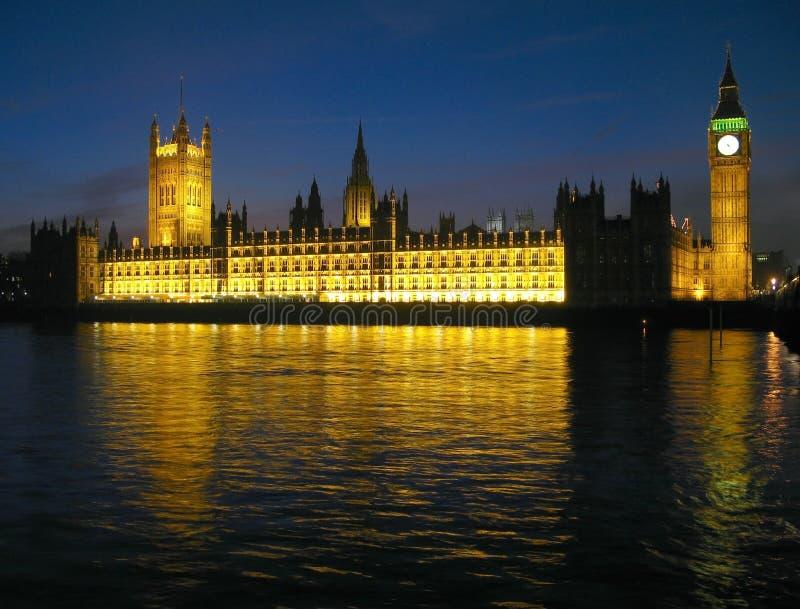 04个房子伦敦议会 免版税库存图片