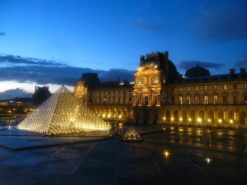 04法国天窗巴黎 免版税库存照片