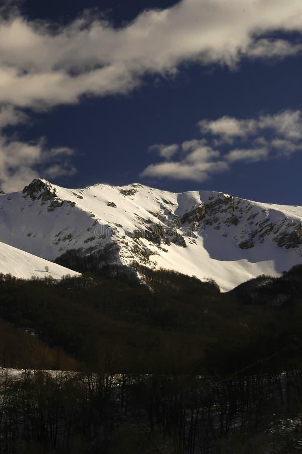 04 βουνά στοκ εικόνες