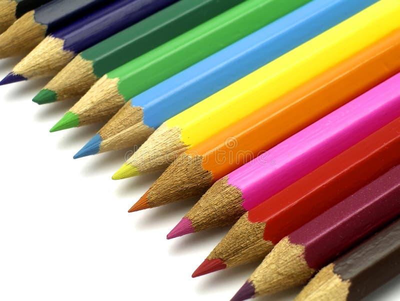 04 blyertspennor arkivbild