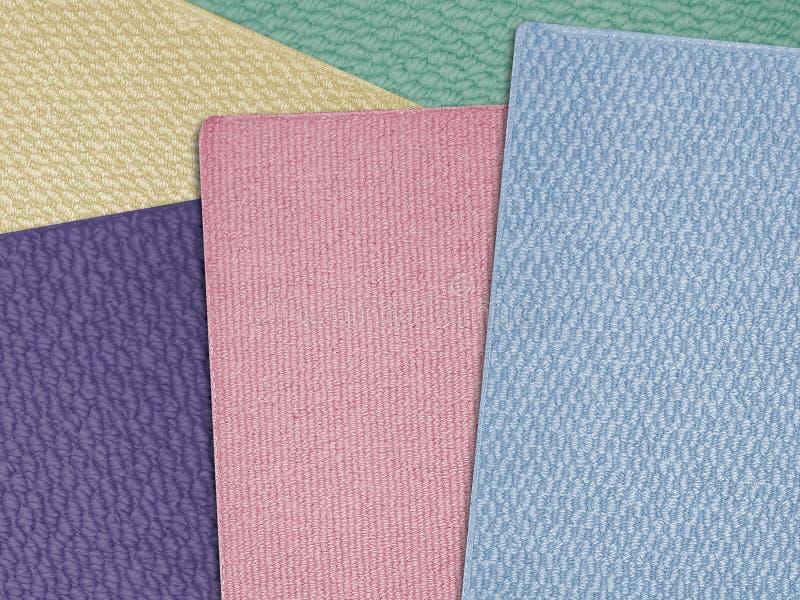 04 dywanowego próbki zdjęcia stock