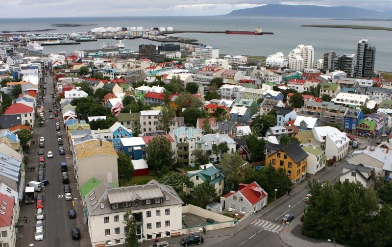 04 Reykjaviku powietrza zdjęcia royalty free