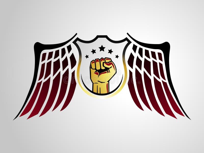 Download 0421 Warrior Badge stock illustration. Illustration of icon - 22809408