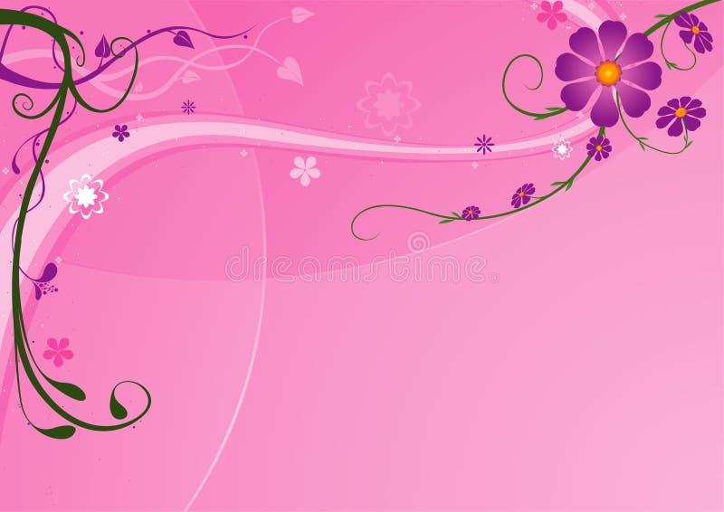 05花卉背景 向量例证
