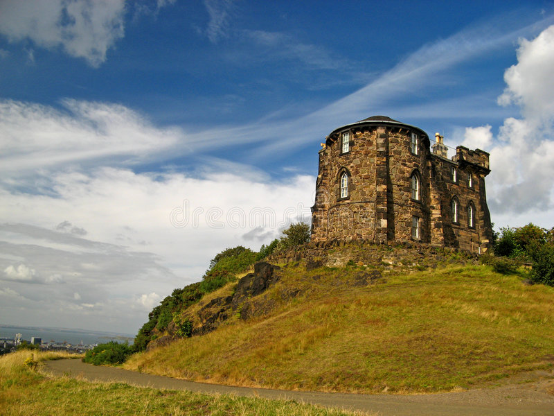 05 calton Edinburgh hill obrazy royalty free