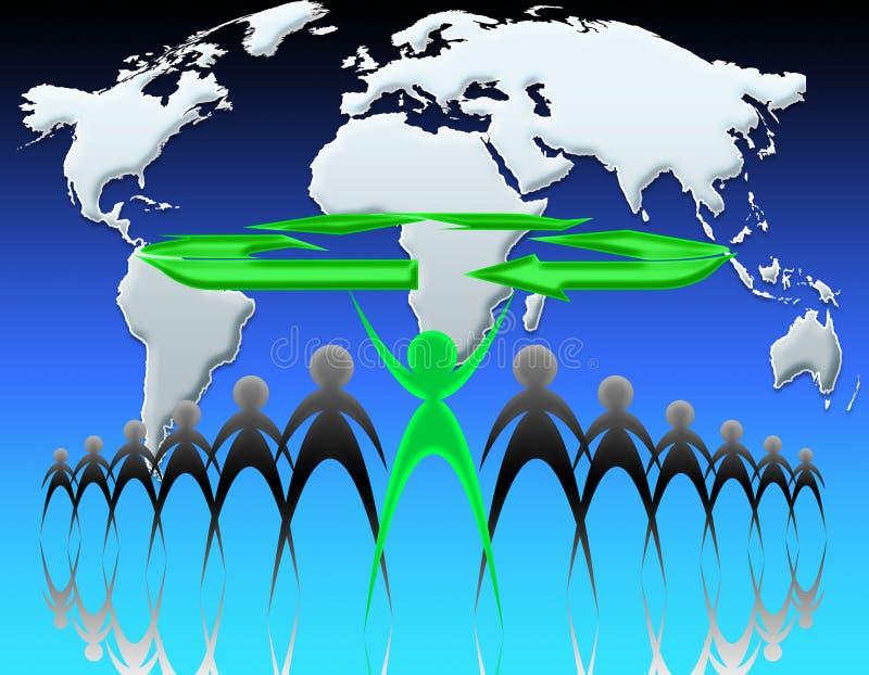 05 ekologia świat ilustracja wektor