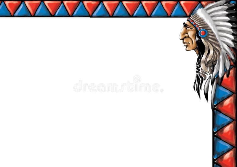 05 gammala västra för kort stock illustrationer