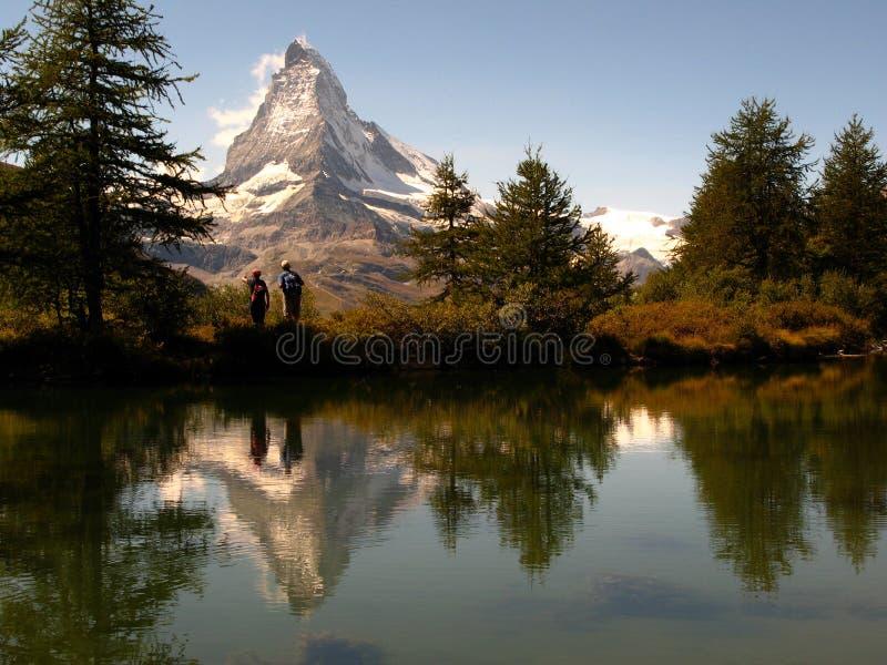 Download 05 Odzwierciedla Grindjisee Matterhorn Szwajcarii Zdjęcie Stock - Obraz: 6298862