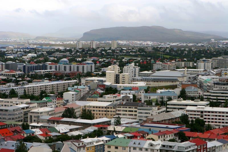 05 Reykjaviku powietrza zdjęcia royalty free