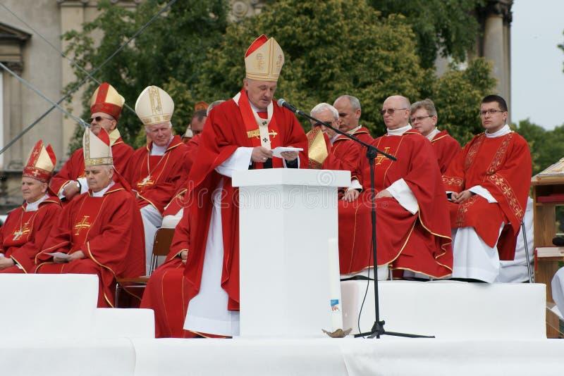 06个大主教6月kazimierz ny波兰warszaw 免版税库存图片