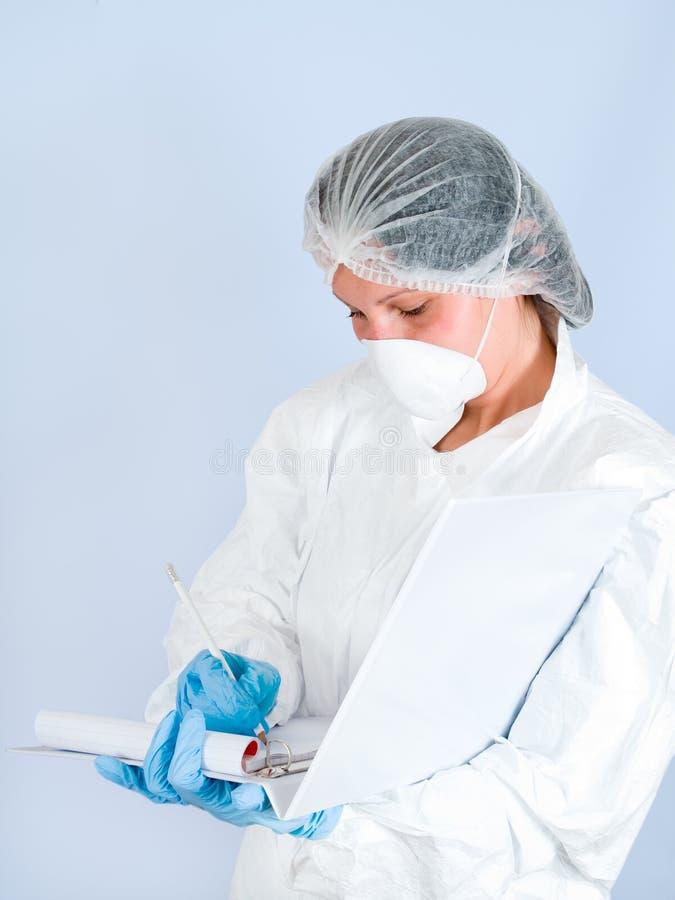 06个女孩实验室 免版税库存图片