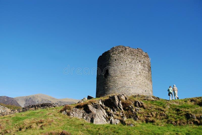 06座城堡dolbadarn 免版税库存照片