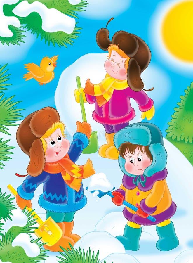 Download 06新年度 库存例证. 插画 包括有 冬天, 圣诞节, 茴香酒, 子项, 节假日, 毛皮, 结构树, 雪球, 礼品 - 189350