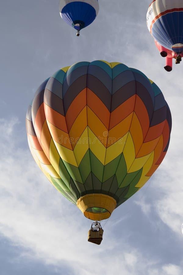 06 balon powietrza gorących serii obrazy stock