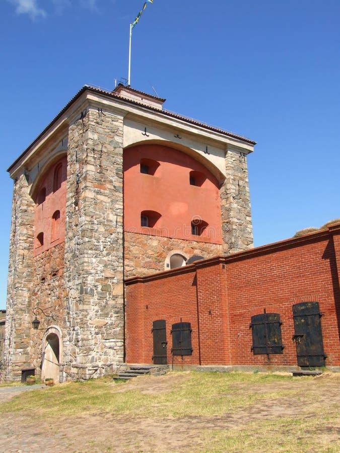 06 fästning gothenburg arkivbilder