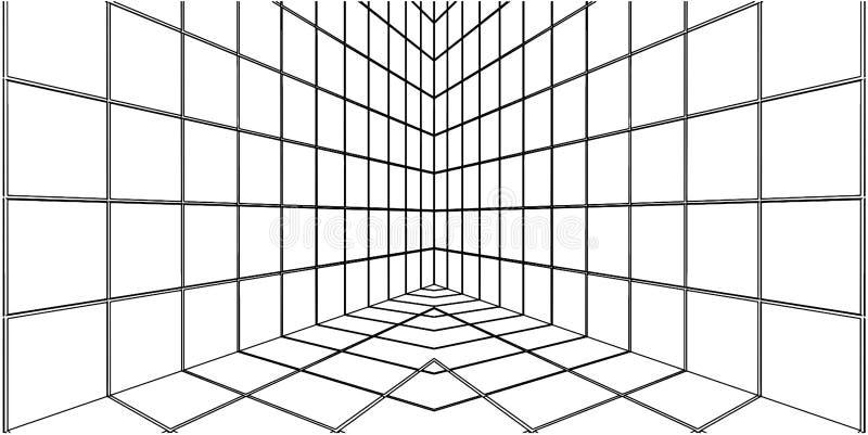 06 kątów dachówkowy wektor ilustracji