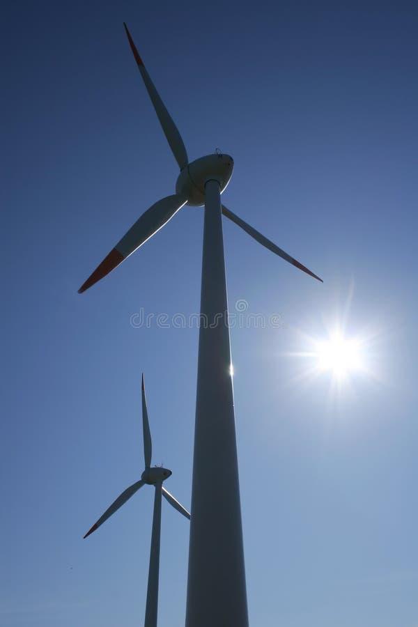 07个涡轮风 免版税库存图片