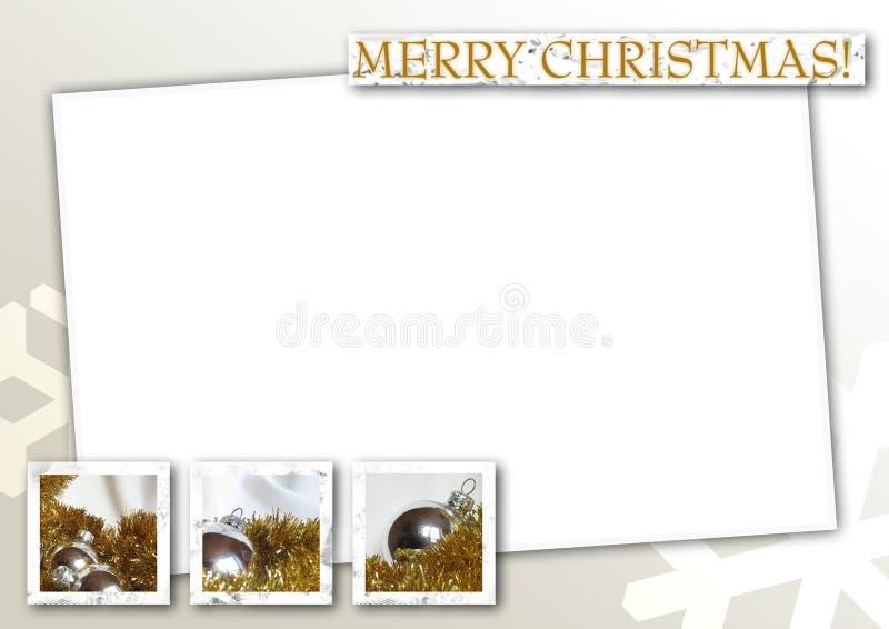 07个看板卡圣诞节 向量例证