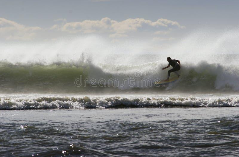 07冲浪 免版税库存照片