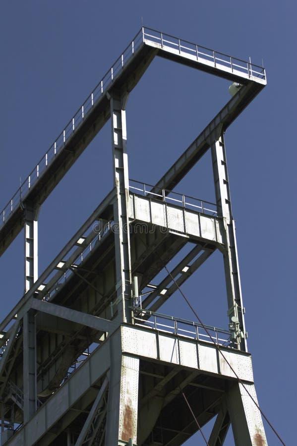 07座煤矿多特蒙德gneisenau轴 库存图片